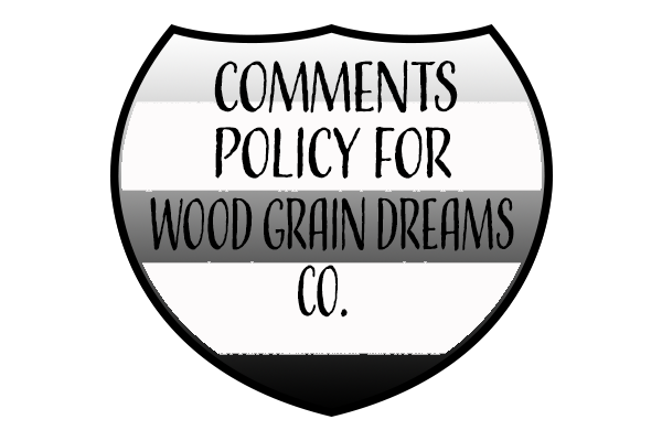 comments policy icon.